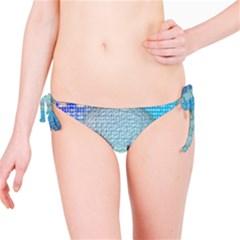 Digital Pattern Bikini Bottom