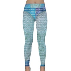 Digital Pattern Classic Yoga Leggings