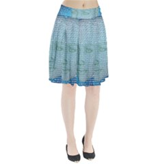 Digital Pattern Pleated Skirt