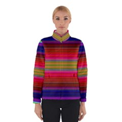 Fiesta Stripe Colorful Neon Background Winterwear