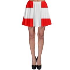 Flag Of Switzerland Skater Skirt