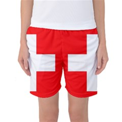 Flag Of Switzerland Women s Basketball Shorts