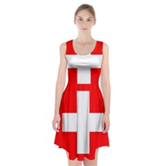 Flag Of Switzerland Racerback Midi Dress