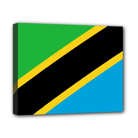 Flag Of Tanzania Canvas 10  X 8