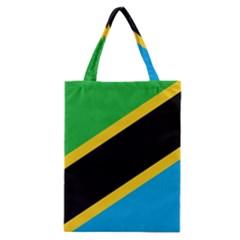 Flag Of Tanzania Classic Tote Bag