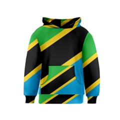 Flag Of Tanzania Kids  Pullover Hoodie
