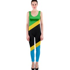 Flag Of Tanzania Onepiece Catsuit