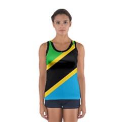 Flag Of Tanzania Women s Sport Tank Top
