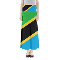 Flag Of Tanzania Maxi Skirts
