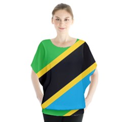 Flag Of Tanzania Blouse