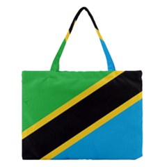 Flag Of Tanzania Medium Tote Bag