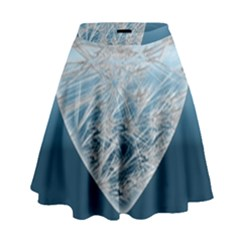 Frozen Heart High Waist Skirt