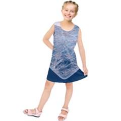 Frozen Heart Kids  Tunic Dress