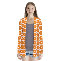 Golden Be Hive Pattern Cardigans