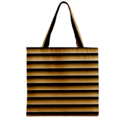 Golden Line Background Grocery Tote Bag