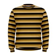 Golden Line Background Men s Sweatshirt
