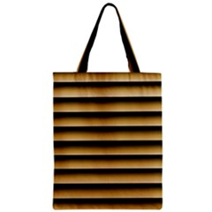 Golden Line Background Zipper Classic Tote Bag
