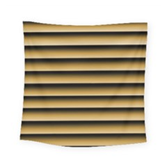 Golden Line Background Square Tapestry (small)