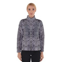 Gray Psychedelic Background Winterwear