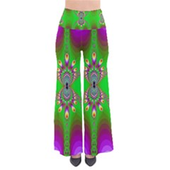 Green And Purple Fractal Pants