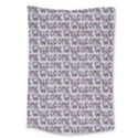 Welcome Letters Pattern Large Tapestry View1