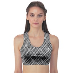 Grid Wire Mesh Stainless Rods Rods Raster Sports Bra