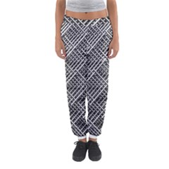 Grid Wire Mesh Stainless Rods Rods Raster Women s Jogger Sweatpants
