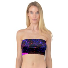 Grunge Abstract Bandeau Top