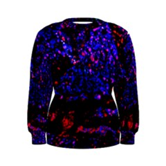 Grunge Abstract Women s Sweatshirt