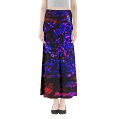 Grunge Abstract Maxi Skirts