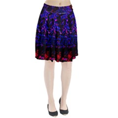 Grunge Abstract Pleated Skirt