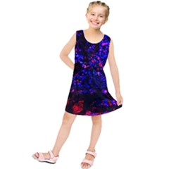 Grunge Abstract Kids  Tunic Dress