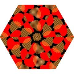 Heart Pattern Mini Folding Umbrellas