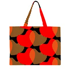 Heart Pattern Large Tote Bag