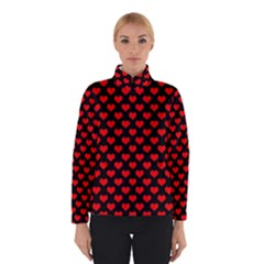 Love Pattern Hearts Background Winterwear