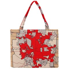 Map Of Franklin County Ohio Highlighting Columbus Mini Tote Bag