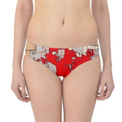 Map Of Franklin County Ohio Highlighting Columbus Hipster Bikini Bottoms