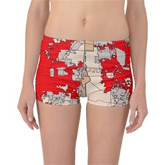 Map Of Franklin County Ohio Highlighting Columbus Reversible Bikini Bottoms