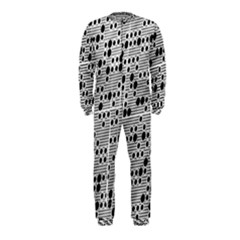 Metal Background Round Holes Onepiece Jumpsuit (kids)