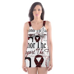 Sickle Cell is ME Skater Dress Swimsuit
