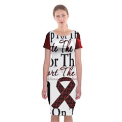 Sickle Cell is ME Classic Short Sleeve Midi Dress