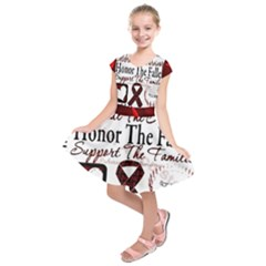 Sickle Cell is ME Kids  Short Sleeve Dress