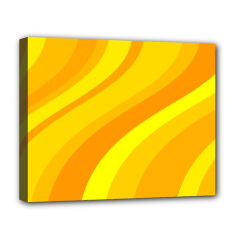 Orange Yellow Background Deluxe Canvas 20  X 16