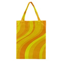 Orange Yellow Background Classic Tote Bag