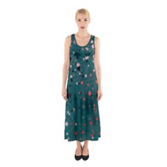 Pattern Seekers The Good The Bad And The Ugly Sleeveless Maxi Dress