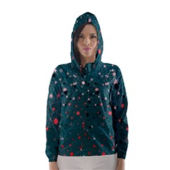 Pattern Seekers The Good The Bad And The Ugly Hooded Wind Breaker (women)