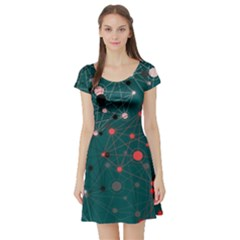 Pattern Seekers The Good The Bad And The Ugly Short Sleeve Skater Dress