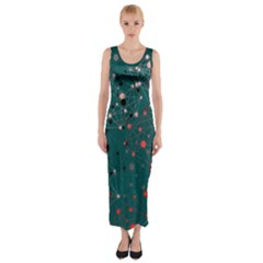 Pattern Seekers The Good The Bad And The Ugly Fitted Maxi Dress