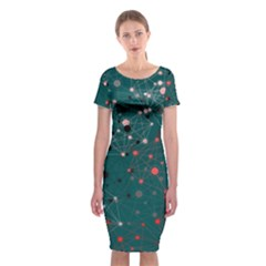 Pattern Seekers The Good The Bad And The Ugly Classic Short Sleeve Midi Dress