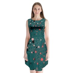 Pattern Seekers The Good The Bad And The Ugly Sleeveless Chiffon Dress